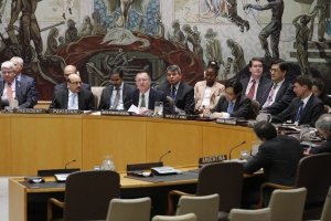 Security Council Meeting on the situation in Mali.  UN Photo/JC McIlwaine