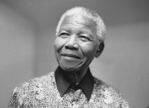 Nelson Mandela, courtesy of Flickr Commons.
