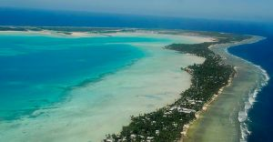 South Tarawa, Kiribati. Source: Government of Kiribati, available from Wikimedia Commons. Used under Creative Commons Attribution License 3.0