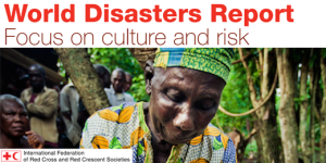 The cover of the 2014 World Disasters Report