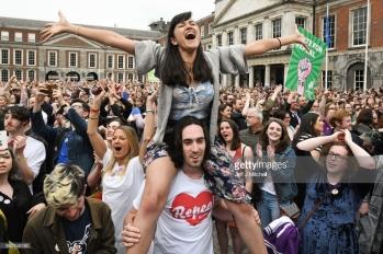 <> at Dublin Castle on May 26, 2018 in Dublin, Ireland.